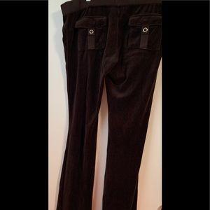 Juicy couture black track pants L